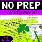 NO PREP! MATH Centers for March {3rd Grade}