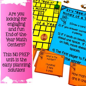NO PREP! MATH Centers for May & June {2nd Grade}