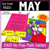 2nd Grade Math Centers for May & June No Prep