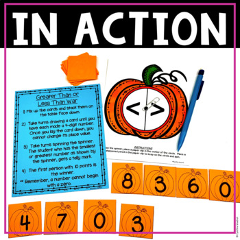 NO PREP MATH Centers for October {3rd Grade}