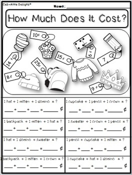 NO PREP!!!  March Math and Literacy Packet