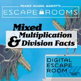 NO-PREP Math Escape Room-Math Facts 1-10-Math Games-Math Escape Rooms
