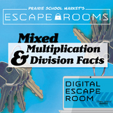 NO-PREP Math Escape Room - Facts 1-10 - Math Games - Multi