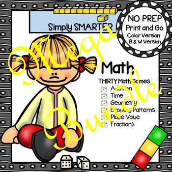 NO PREP Math Games MEGA Bundle