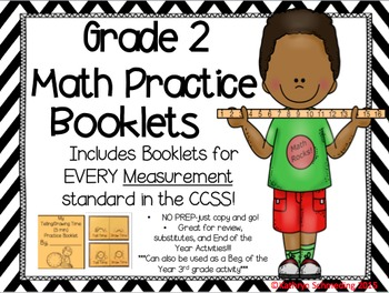 NO PREP CCSS Aligned- Interactive Activity Booklets-MEASUREMENT