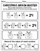 NO PREP Math Printables - DECEMBER