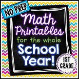 NO PREP Math - 1st Grade