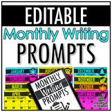 Monthly Writing Prompts