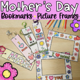NO PREP Mother's Day Bookmark and Picture Frame Gift