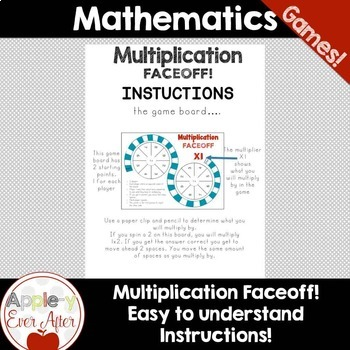NO PREP Multiplication Faceoff Math Game