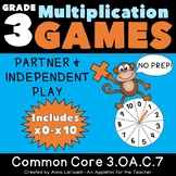 NO PREP Multiplication Spin to Win Games