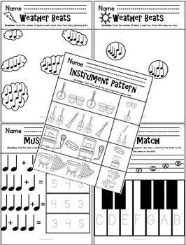 NO PREP Music Activities KINDERGARTEN