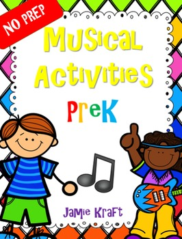 NO PREP Music Activities PreK