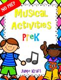 NO PREP Music Activities PreK