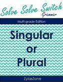 NO PREP NEEDED QUIZ QUIZ TRADE Singular or Plural Nouns
