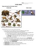 NO PREP Need a Lesson Quick! Series - Food Chains - bonus