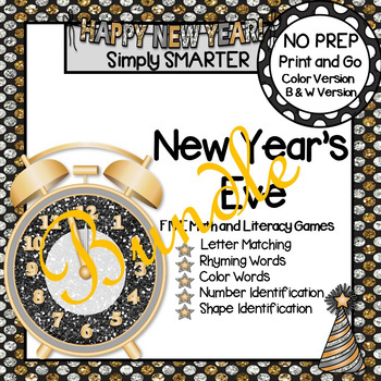 NO PREP New Year's Eve Games Bundle