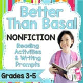 Mentor Text Reading Activities & Writing Prompts: Nonficti