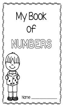 NO PREP Number Worksheets 1-10