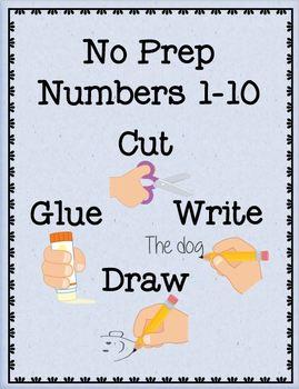 NO PREP Numbers 1-10