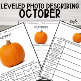 NO PREP {October} Leveled Photo Describing