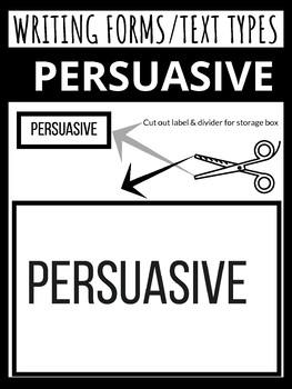 NO PREP PACK - Grades 4-8 - Persuasive writing - Ink Saver - (Ontario)