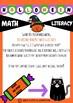 NO PREP Pack - Holiday Halloween - Grades 1 2 3  - Math & Literacy Worksheets