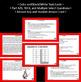 Reading Comprehension Assessment and Task Cards- RLI 1