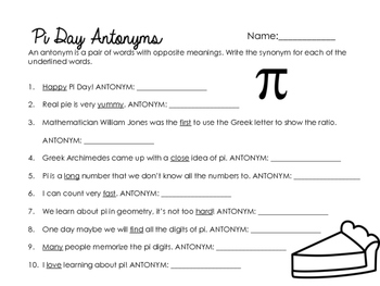 Pi Day Worksheets & Printables by Glitter in Third | Teachers Pay ...
