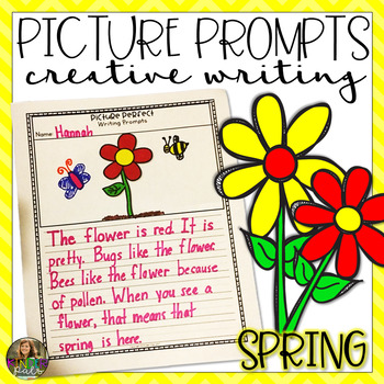 NO PREP Picture Prompts- Spring and Holiday Themed Creative Writing Prompts