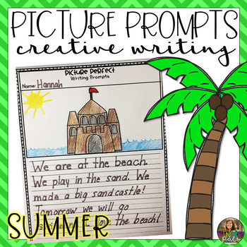 Creative Writing Prompts- Summer Themed Writing Centers