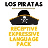NO PREP Pirate Speech Therapy - Receptive & Expressive Lan