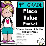 NO PREP Place Value Packet (4th Grade)