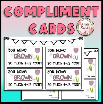 NO PREP Notes - Mini Encouragement Cards for Students - Immediate Feedback