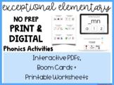 MEGA BUNDLE 600+ Slides: Print and Digital Phonics (BOOM,