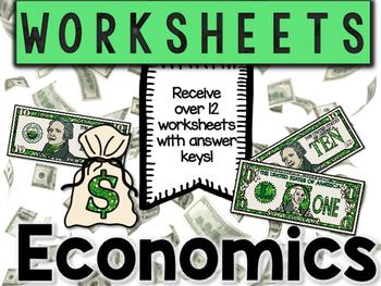 Economics Worksheets & Printables