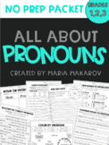 NO PREP Pronouns Packet
