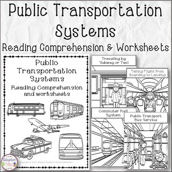 NO PREP Public Transportation Systems Reading Comprehension and ...