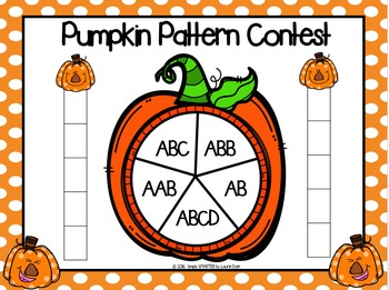 NO PREP Pumpkin Themed Math and Literacy Games Bundle