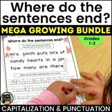 Capitalization and Punctuation Practice MEGA GROWING BUNDLE
