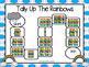 NO PREP Rainbow Themed Math and Literacy Games Bundle