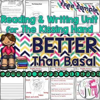 NO PREP Reading & Writing Units {ONE FREE UNIT- The Kissing Hand}