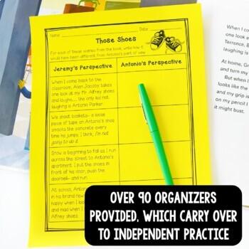 NO PREP Reading & Writing Units for 30 Mentor Texts (Vol 2 Better Than Basal)