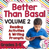 Mentor Text Reading Activities & Writing Prompts for Volum