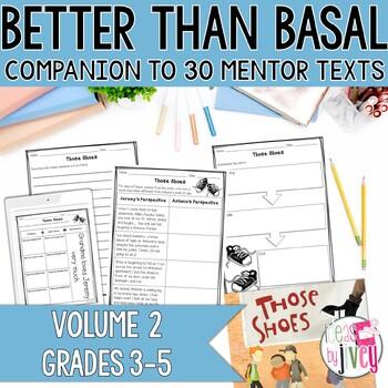 NO PREP Reading & Writing Units for 30 Mentor Texts (Vol 2