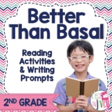 NO PREP Reading & Writing Units for 40 Mentor Texts -Grade 2 (Better Than Basal)