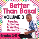 NO PREP Reading & Writing Units for 40 Mentor Texts (Vol 3