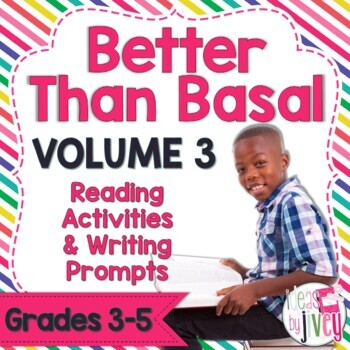 NO PREP Reading & Writing Units for 40 Mentor Texts (Vol 3 Better Than Basal)