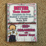 NO PREP Reading and Writing Units: Second Grade Better Than Basal HARD COPY Book