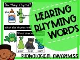 Rhyming PowerPoint Phonological Awareness Activities (NO PREP!)